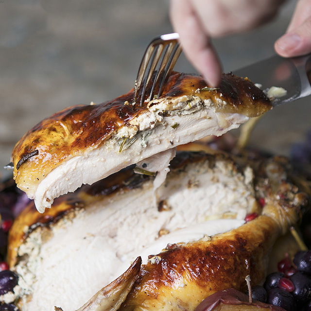 Fall Harvest Cider Roasted Chicken
