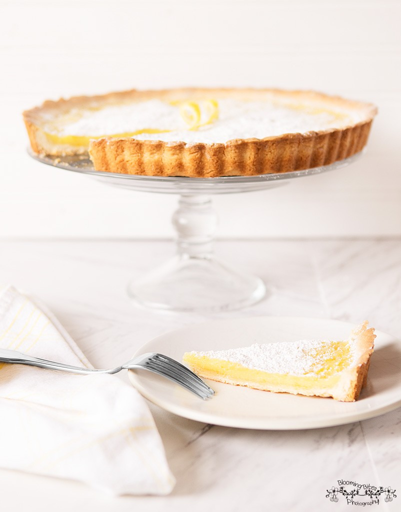 Lemon Tart with A Shortbread Crust