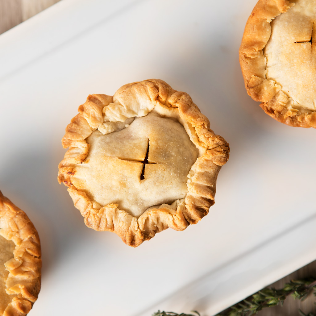 Beef and Guinness Hand Pies - Blooming Bites Photography