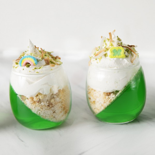 StPatricks Day Key lime pie Jello parfait_0007