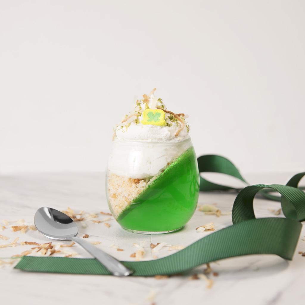 St. Patrick's Day Jello Parfait