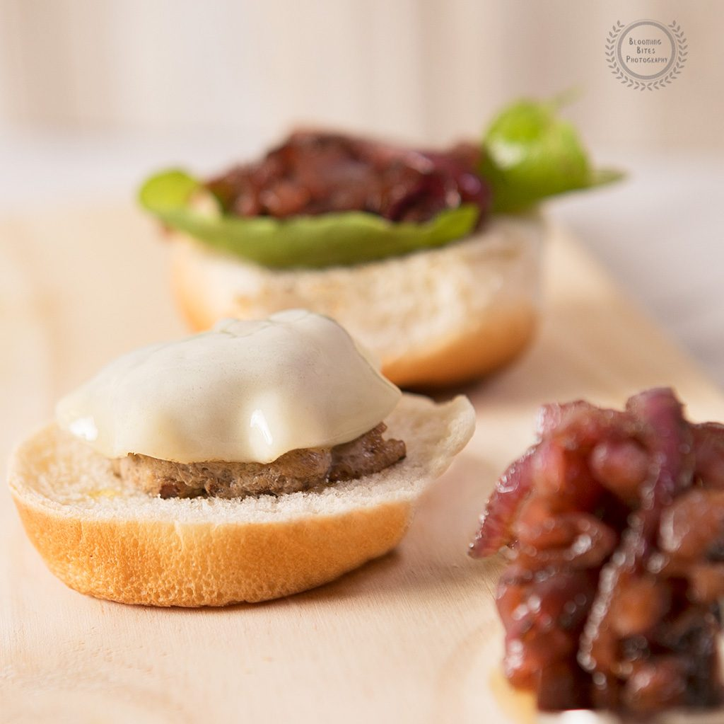 Mini Turkey Sliders with Caramelized Onions