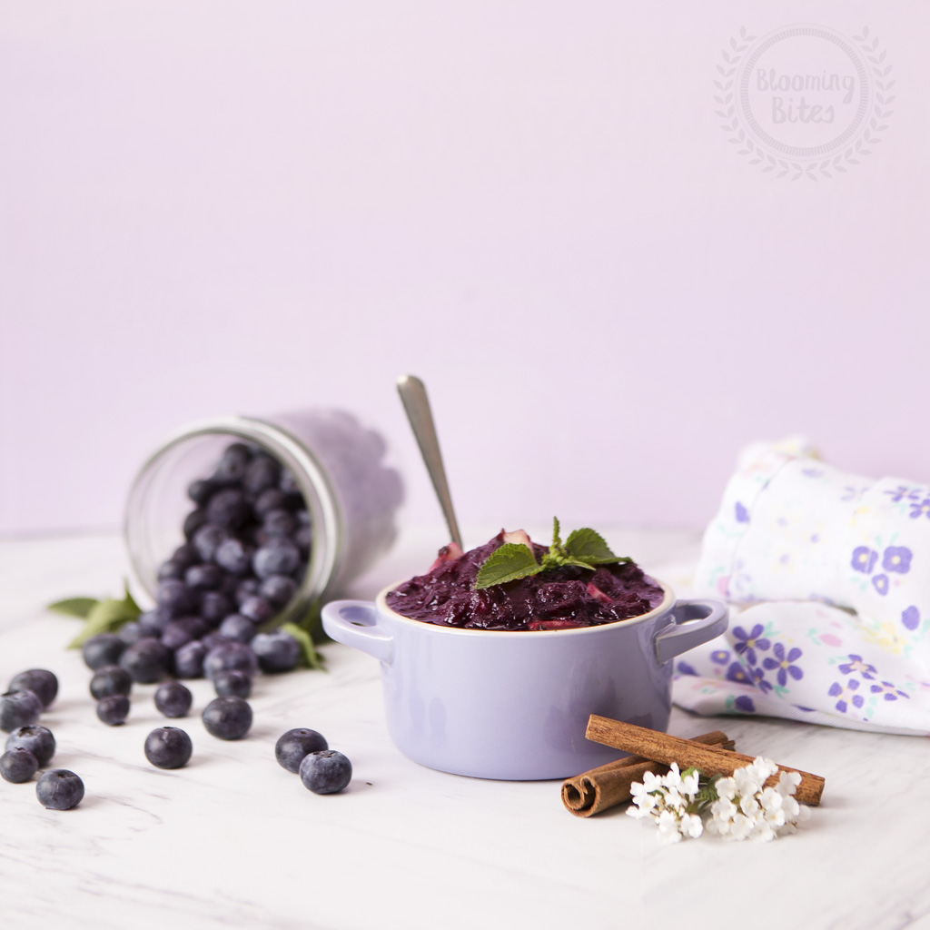 Blueberry Applesauce
