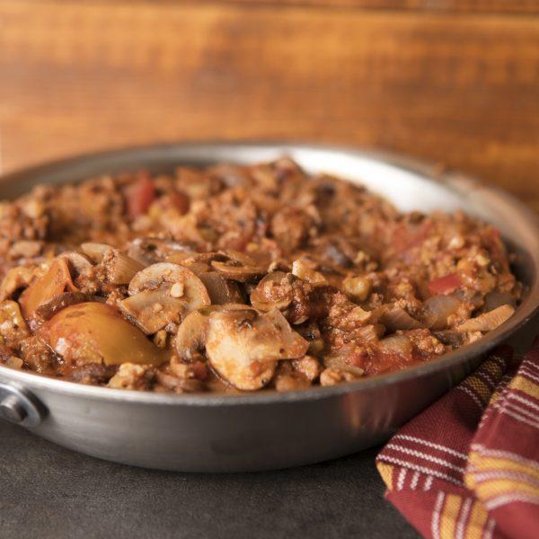 Mushroom turkey walnut bolognese_0004