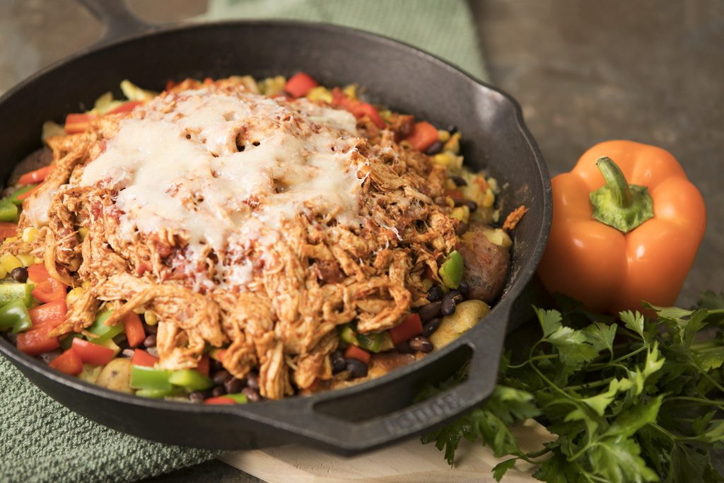 Southwestern Chicken potato skillet_0011