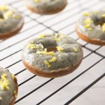 Lemon Blueberry Baked Donuts
