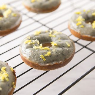 Blueberry Lemon Donuts