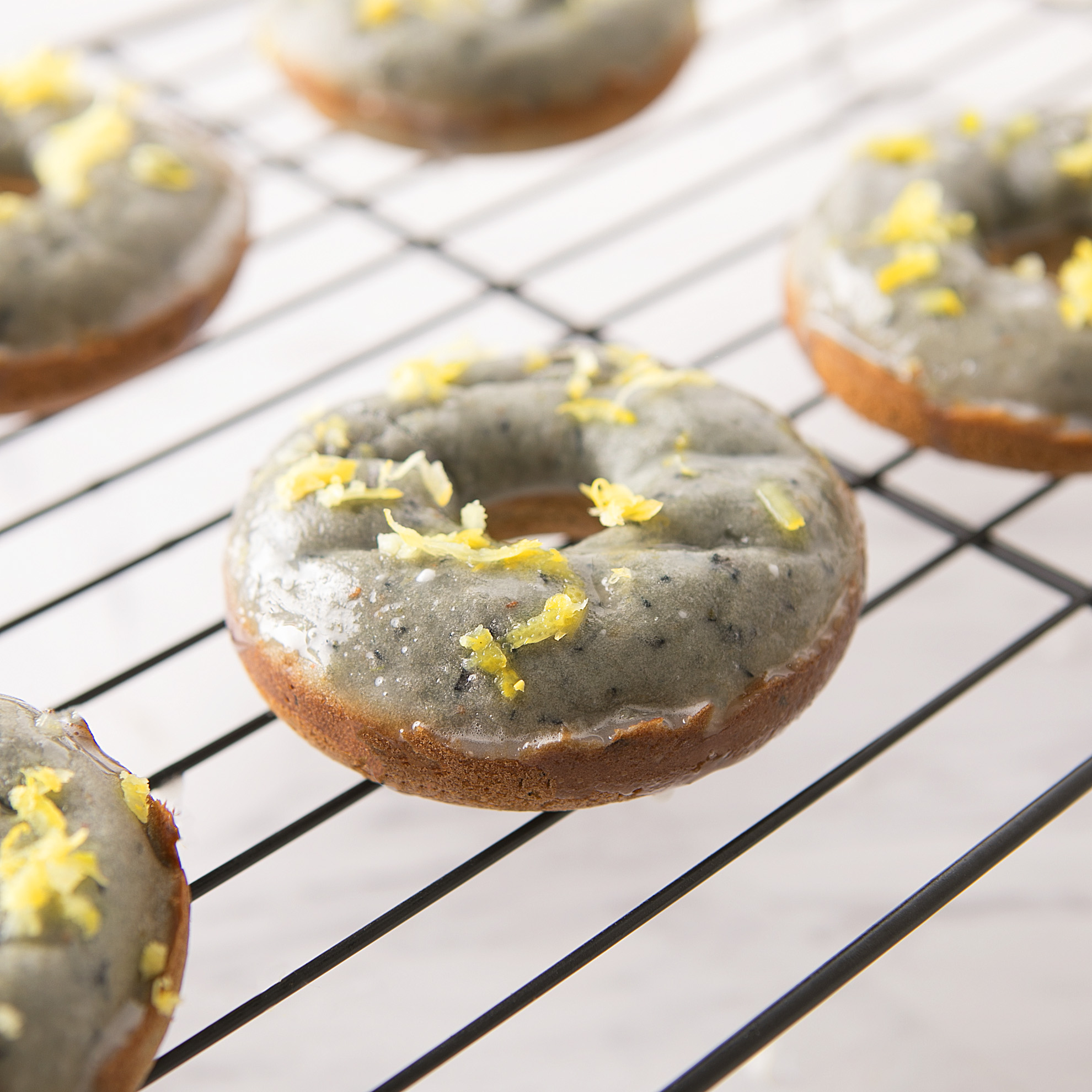 Blueberry Lemon Donuts