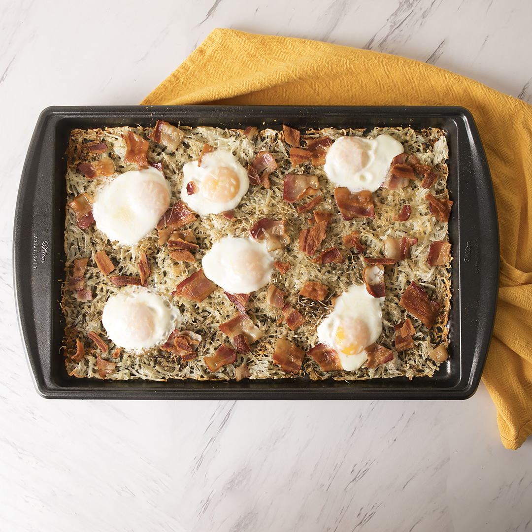 Sheet Pan American Breakfast Bake