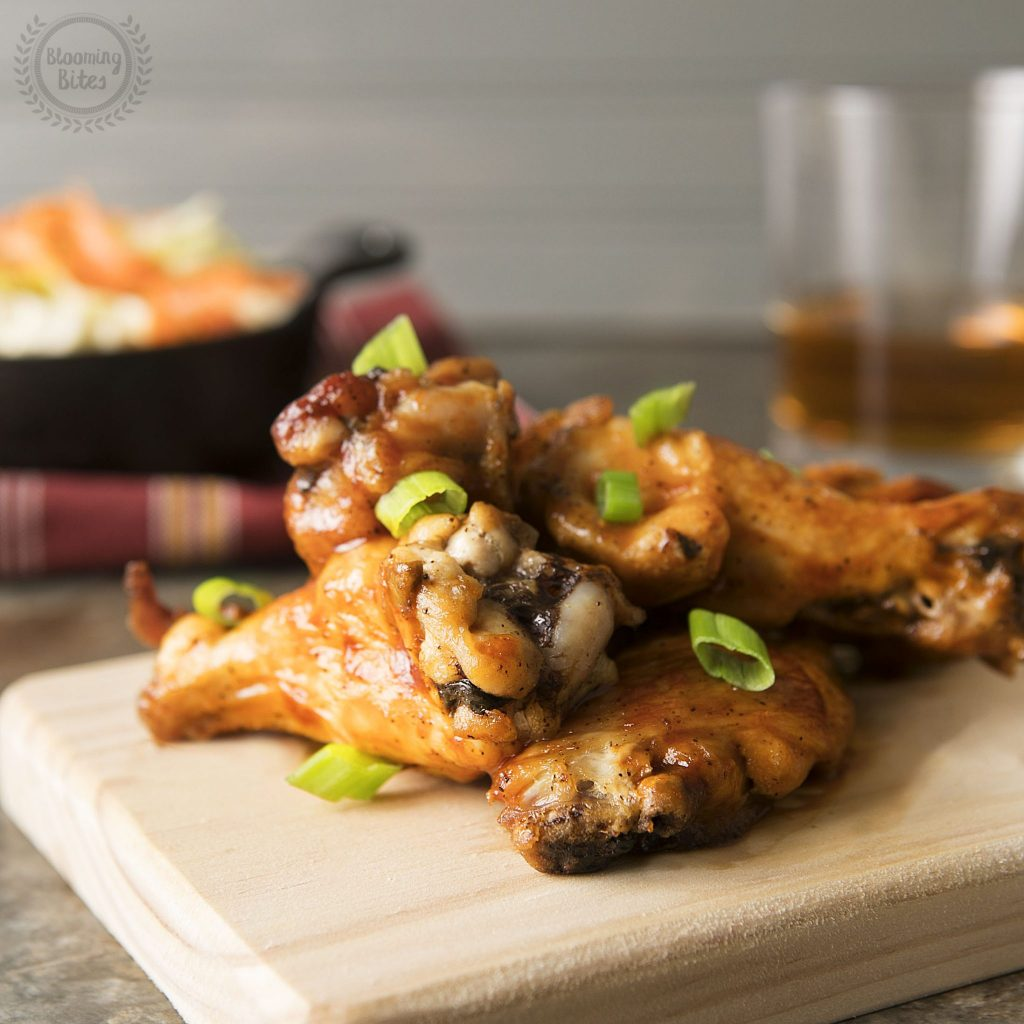 BBQ Glazed Chicken Wings By Blue Apron