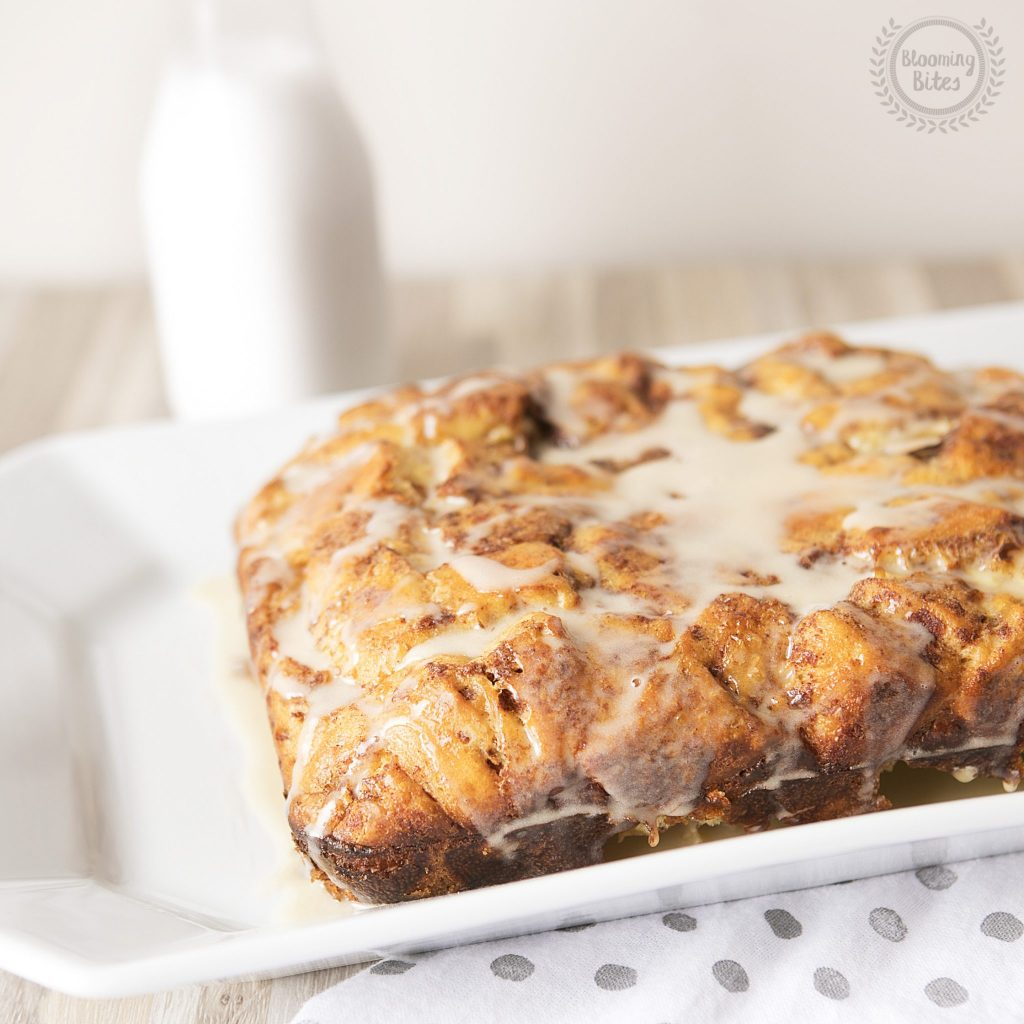 Overnight Cinnamon Roll French Toast Bake