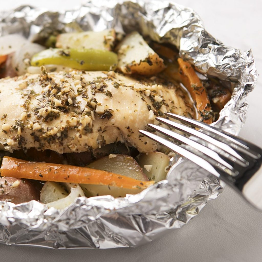 Italian Chicken Foil Packs