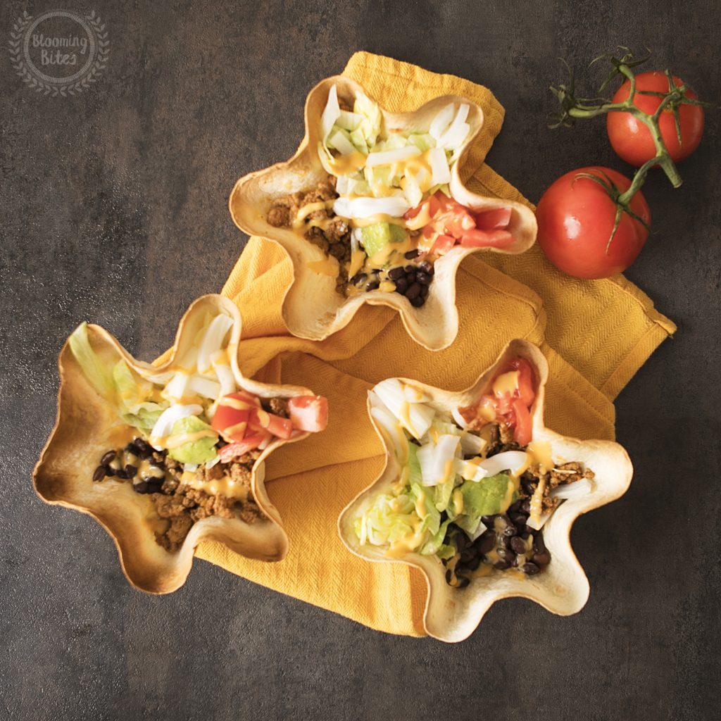Mexican Tostada Bowls
