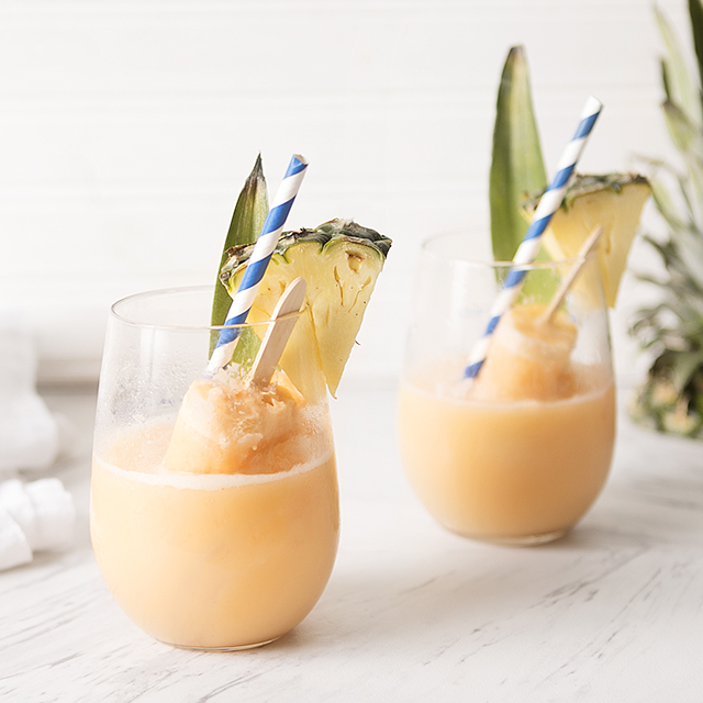 Orange Pineapple Creamsicle Mimosa