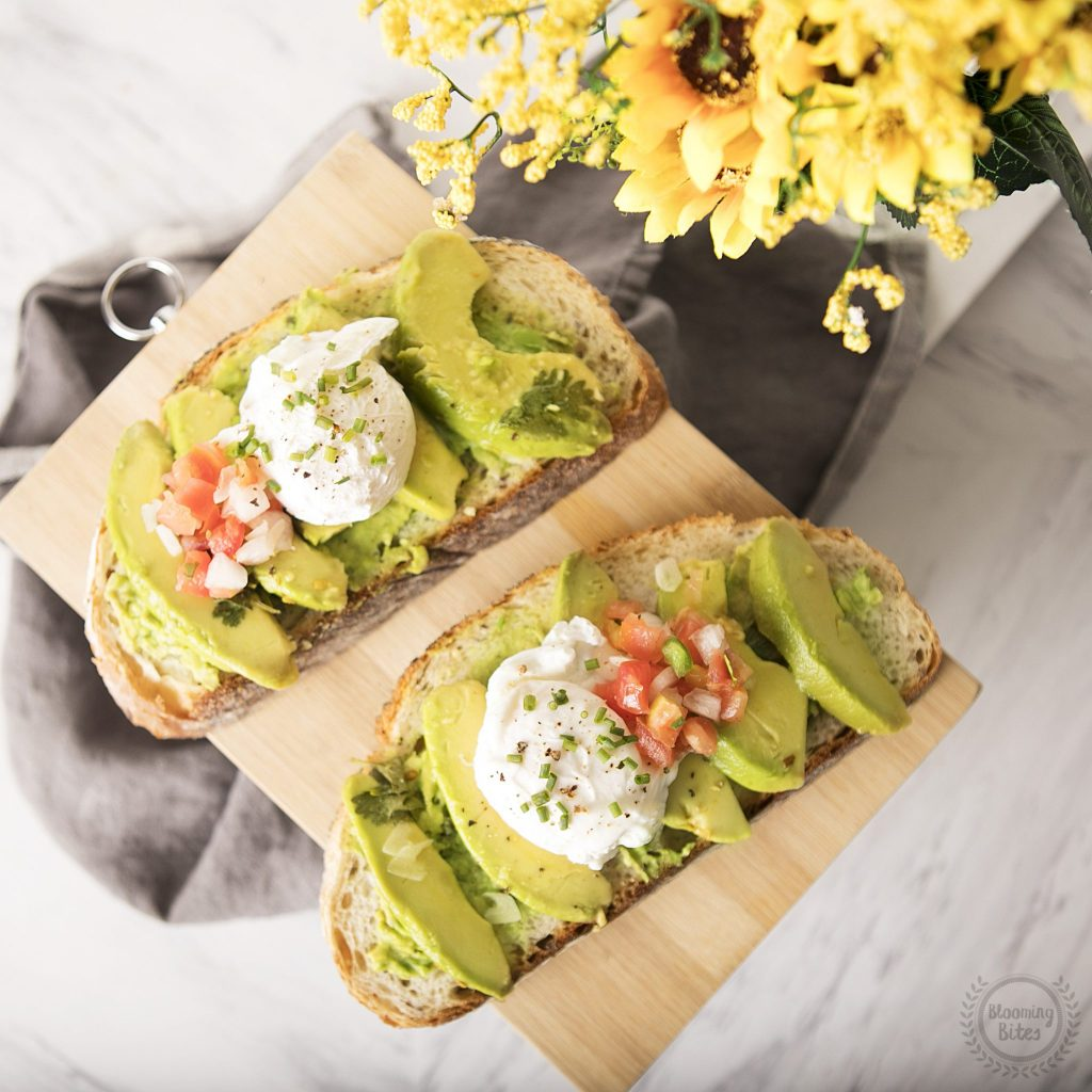 Pickled Avocado Toast