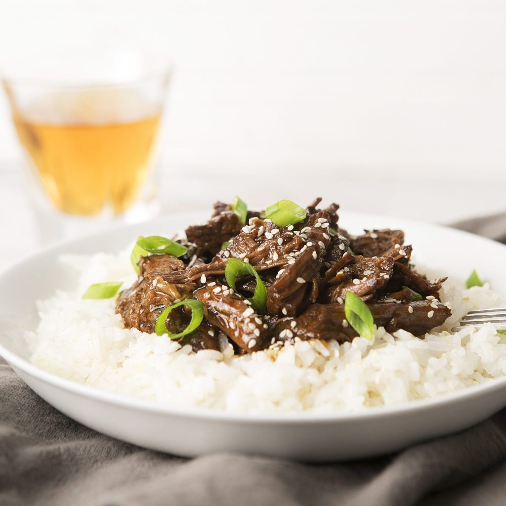 Slow Cooker Sweet Korean BBQ