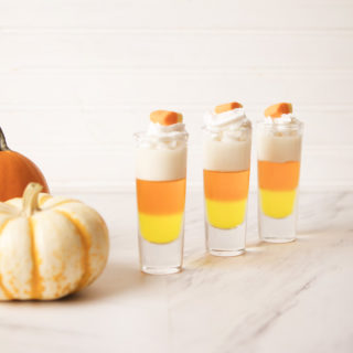 Candy corn Jello Shots