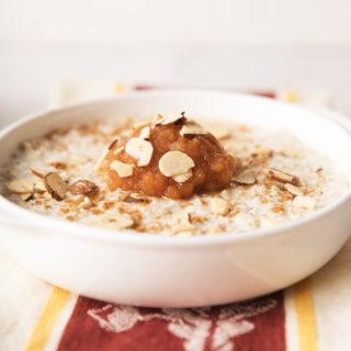 overnight Swiss oatmeal