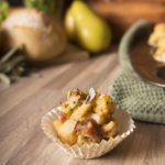 Sausage and Pear Stuffing Muffins