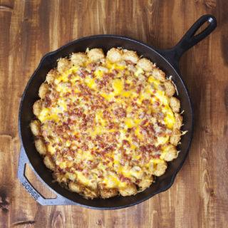 Tater Tot, Bacon & Egg Breakfast Bake