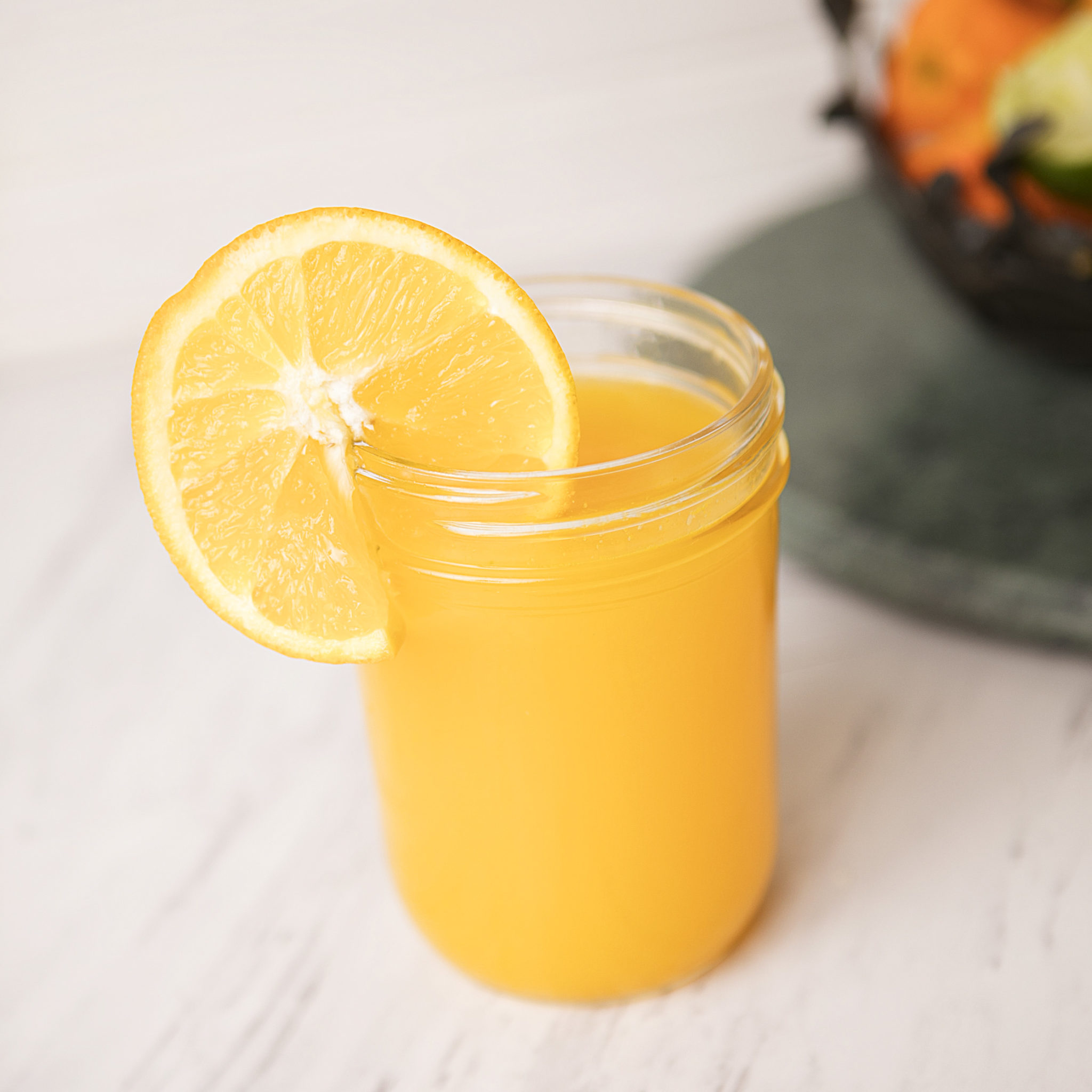 Orange and Lime Detox Drink