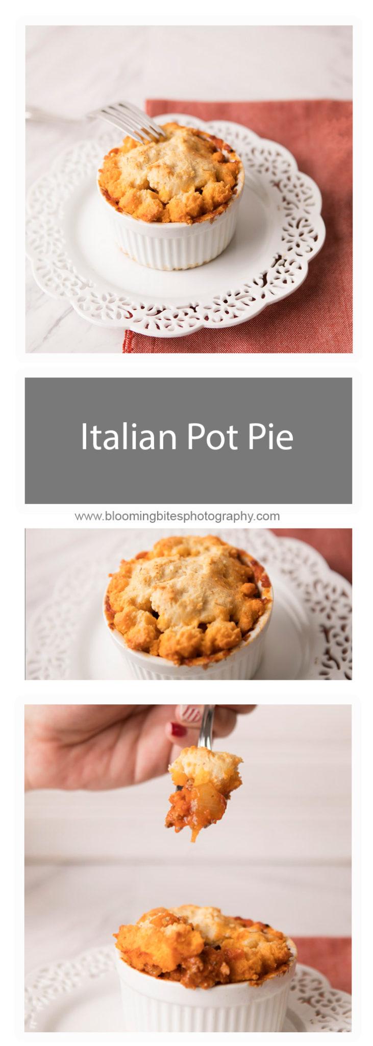 Italian Pot Pie - Blooming Bites