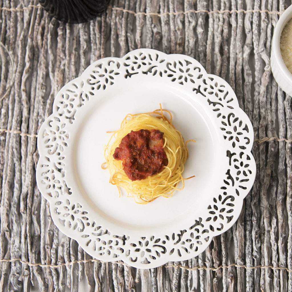 Crunchy Spaghetti Nest