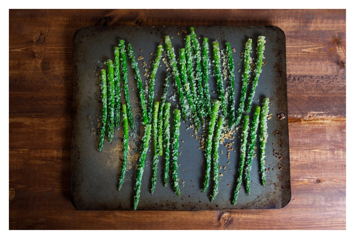 Parmesan roasted asparagus Website Gallery