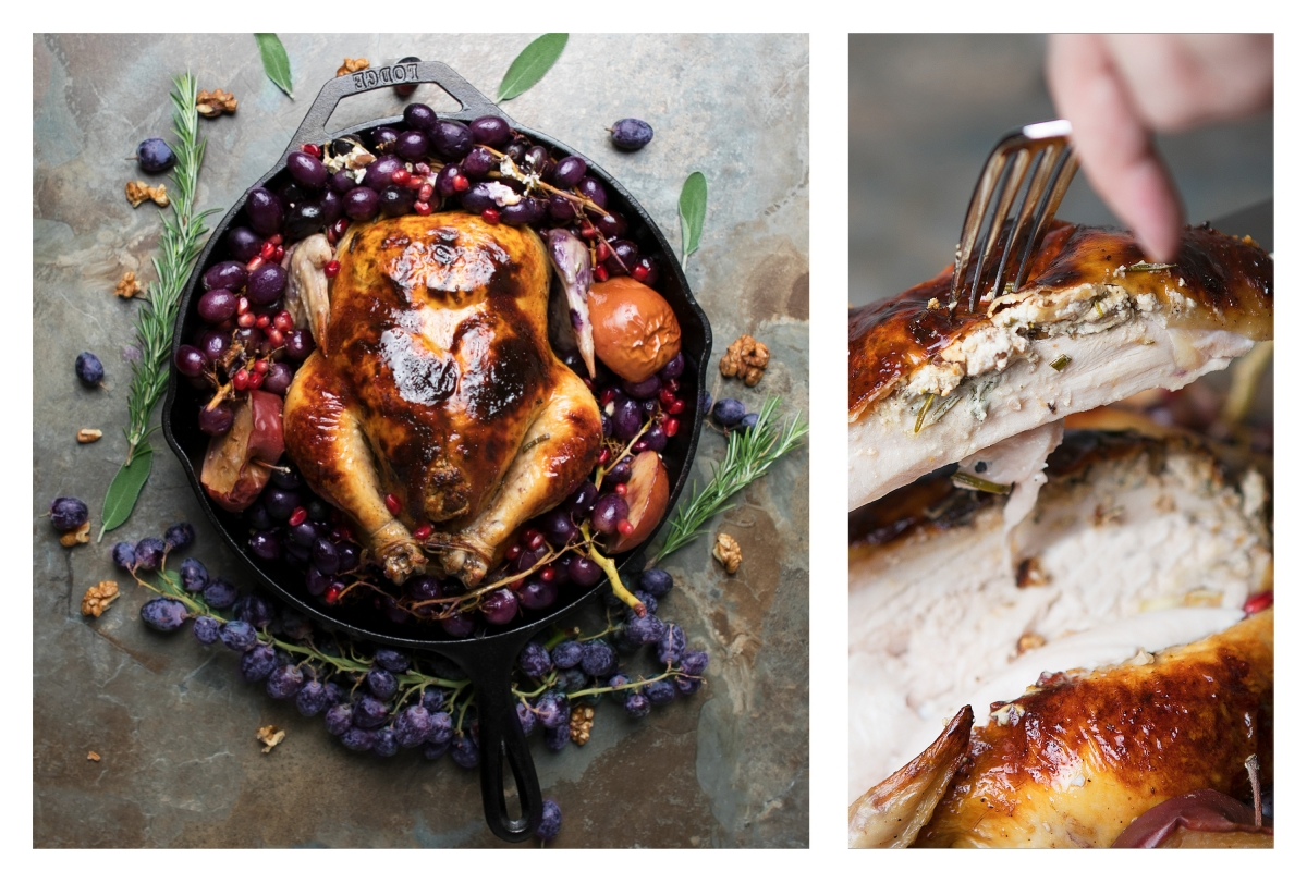 Website Gallery FullScreen Cidar roasted chicken